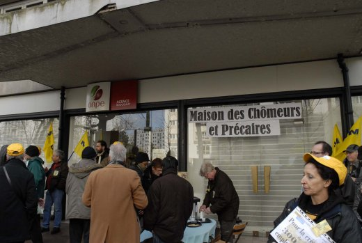 Hiver 1997/98 : quand des chmeurs occupaient des ANPE