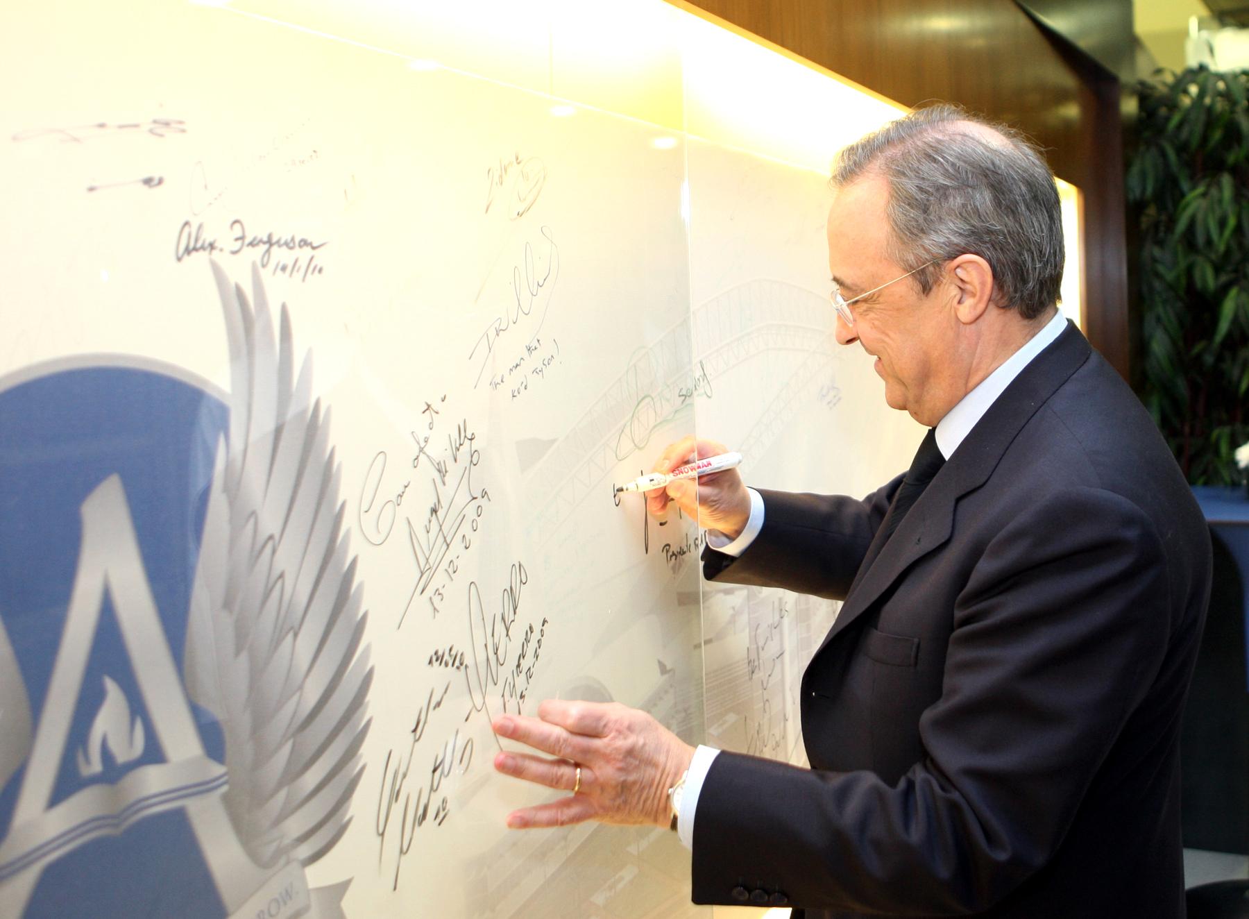 Comment la tribune VIP du Real Madrid a permis au magnat de la construction espagnol de bâtir son empire