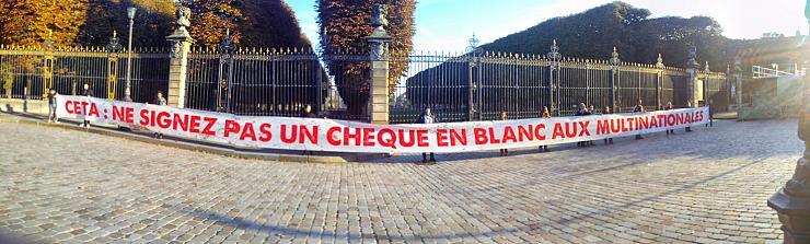 Accord de libre-échange Ceta : les opposants demandent un référendum